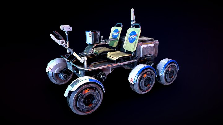 Lunar_Rover 3D Model