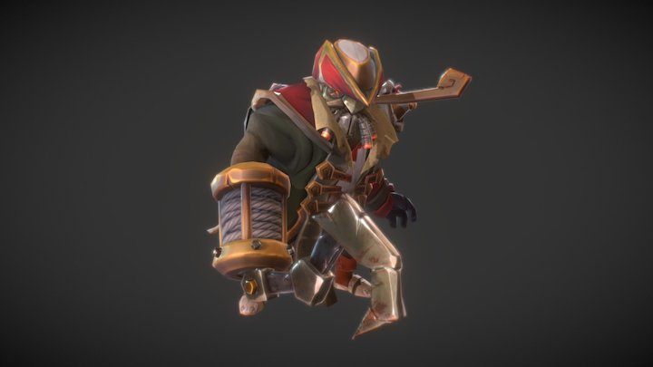 Dota 2 Workshop: Submerged Marauder 3D Model