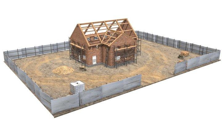 House Construction 3D Model