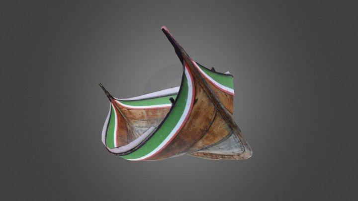 Nordlandsbåt 3D Model