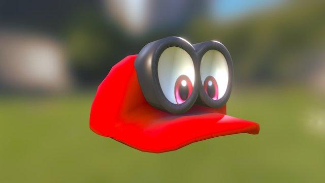 Mario's Hat (Super Mario Odyssey) 3D Model