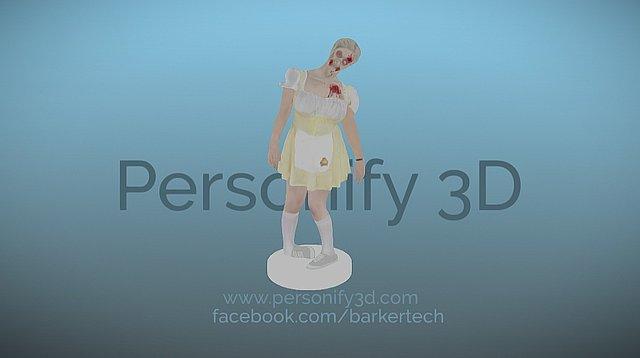 Jen - Atlanta Zombie Pub Crawl 2015 3D Model