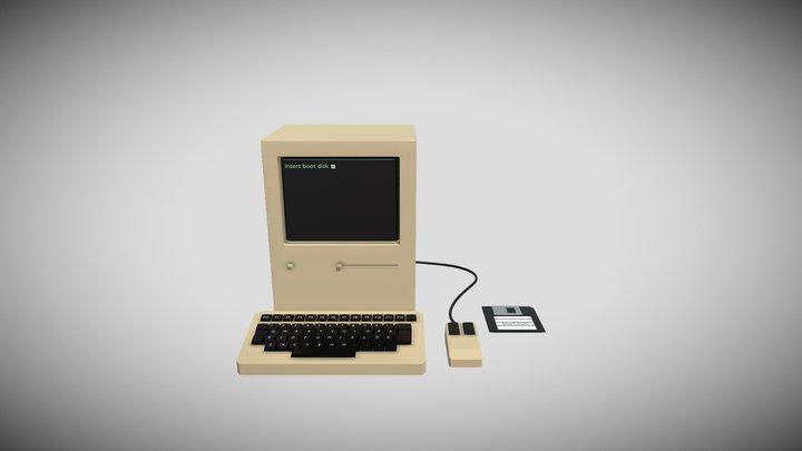 80S COMPUTER 3D Model