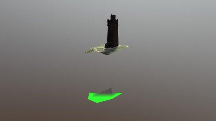 Victoria Tower, Castle Hill, Huddersfield 3D Model