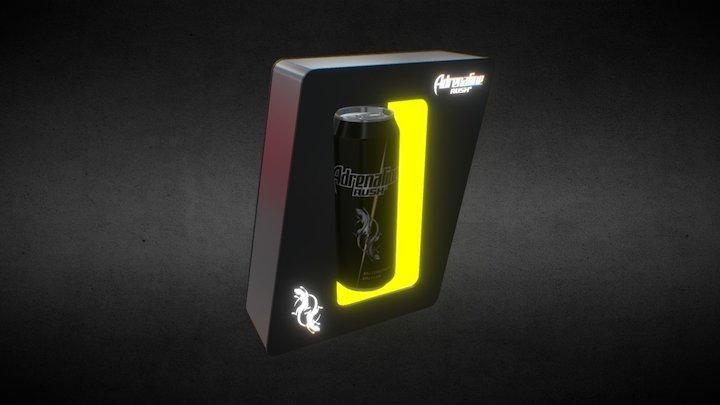 Ad energy 6 3D Model