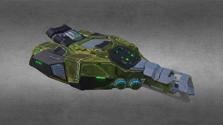 Nepntun M2 fin 3D Model