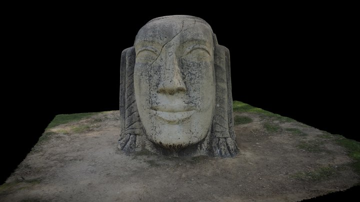 Estatua Parque Grande 3D Model