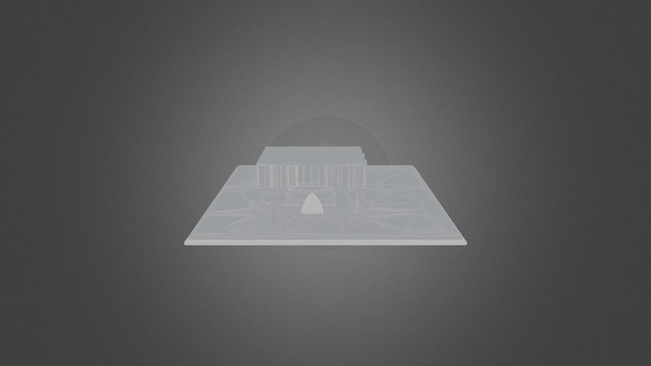 Albertsons_Library_Fountain_1968 3D Model