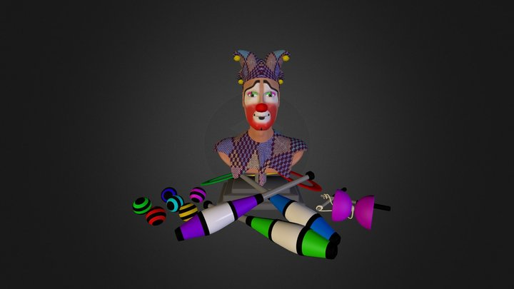 Clown Stuff 3D Model