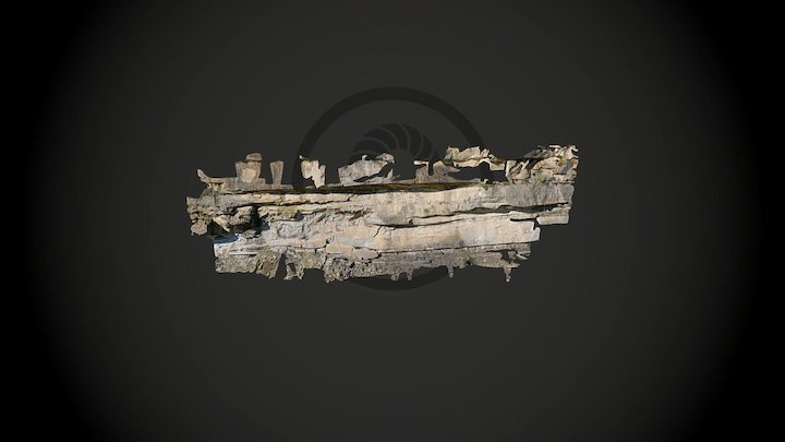 Ainsa Quarry 3D Model