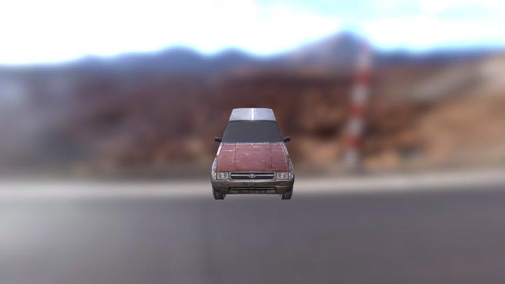 WIP Toyota Pickup 3D Model