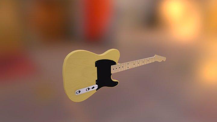Fender Classic Telecaster 3D Model