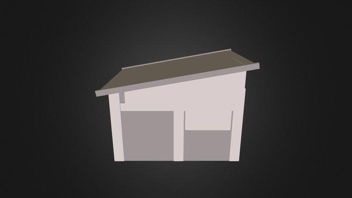Post-apocalyptic Shack 3D Model