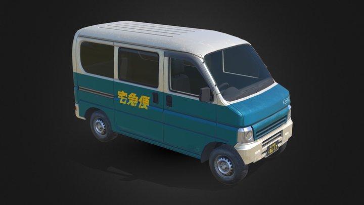 Van 1 3D Model