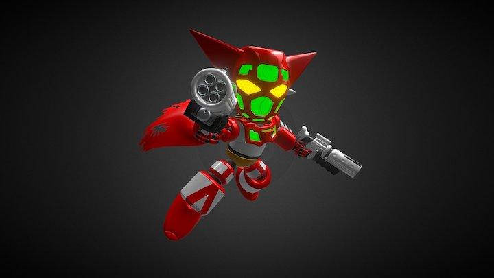 ES Getter Robo 1 3D Model
