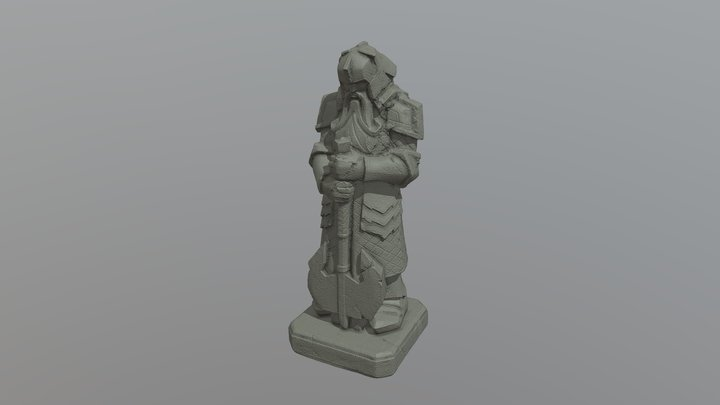 Middle Earth 3D Model