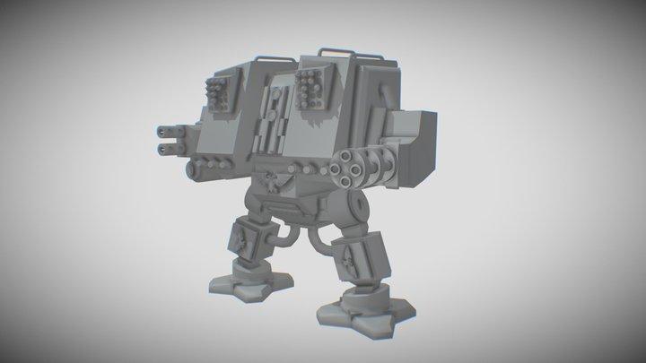 Space Marine Mech 3D Model