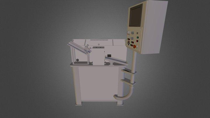 CNC Slotter 3D Model