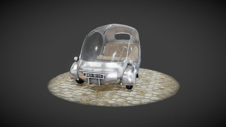 The electric egg 3D Model