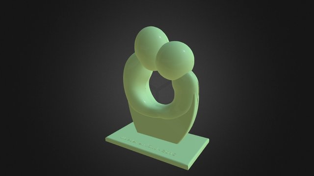 Mother and child (Guy) 3D Model