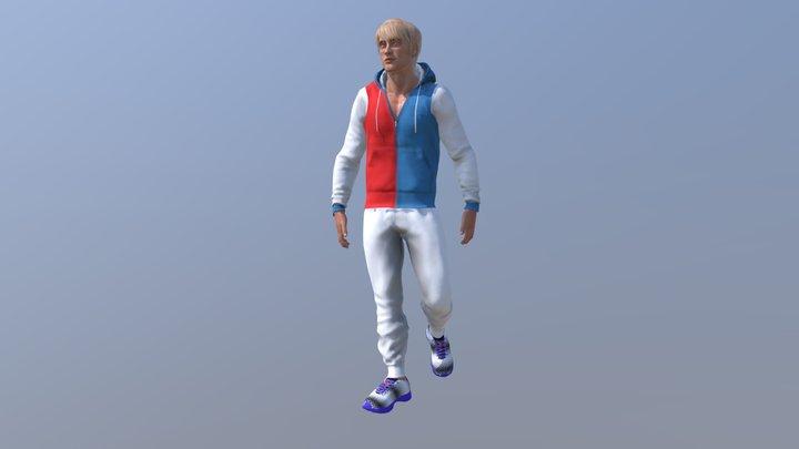 Jean S 3D Model