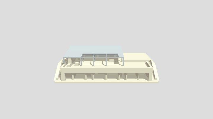 CF Estudio Cubierta / versión 2 3D Model