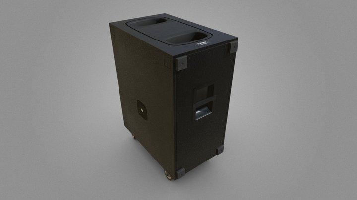 QSC-KS Speaker 3D Model