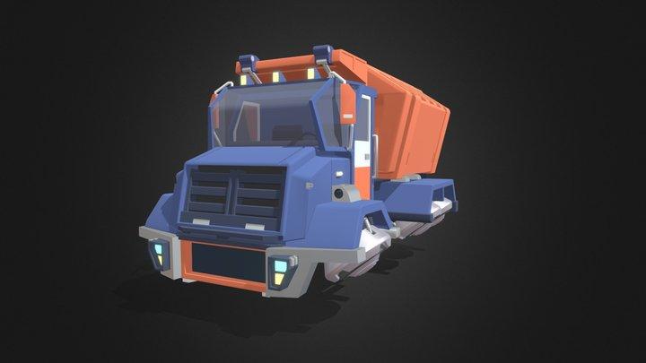 Car 1 Detailed 3D Model