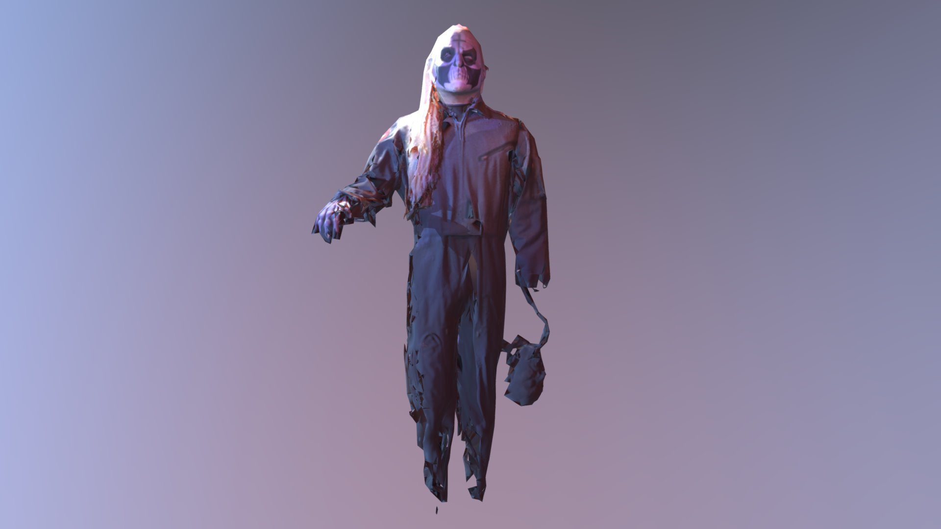 Scary Dude With Head On Hook