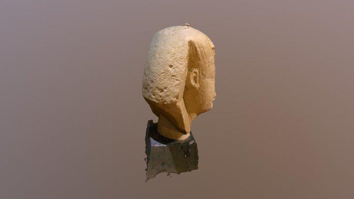 Testa di Sfinge 3D Model