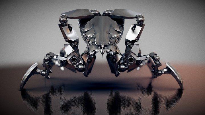 Robogeisha 3D Model