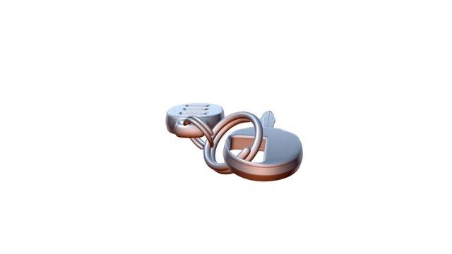 Car Keys 3D Model