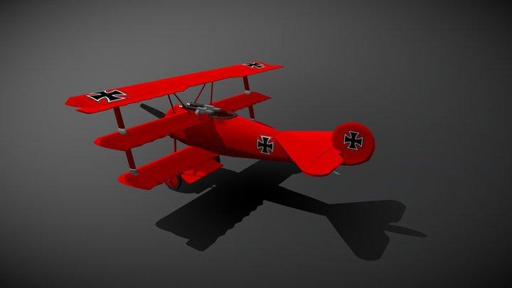 Fokker D1 3D Model