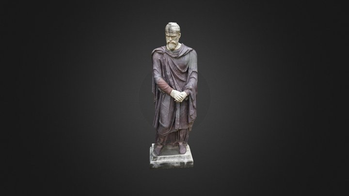 Dacian by the Stairs 3D Model