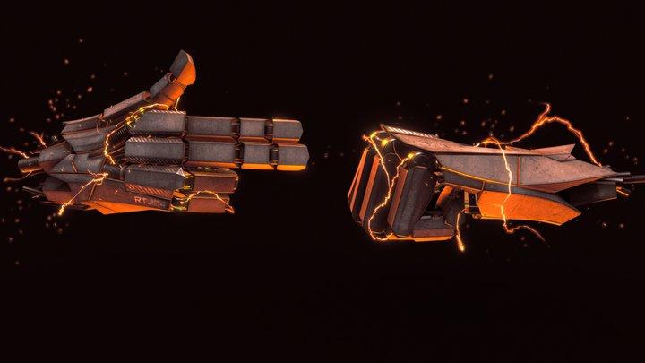 RTJ4D: Titanium 3D Model