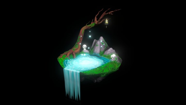 Kodama Forest 3D Model