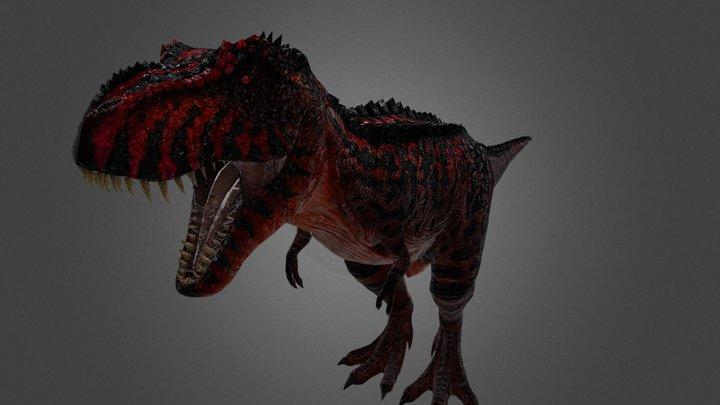 T-Rex Alpha Rex 3D Model