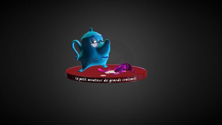 Le teapot 3D Model