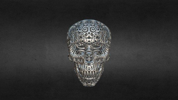 Crania Anatomica Filigre 3D Model