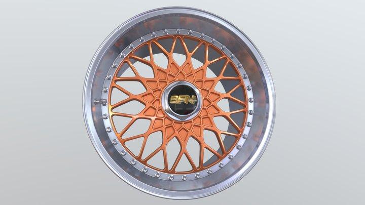 SFN Super RS 3D Model
