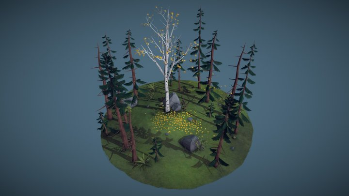Forest 3D Model