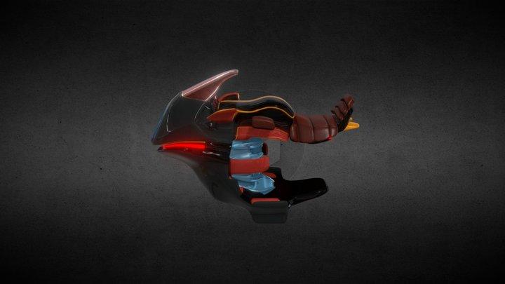 Speedbiker Future. 3D Model