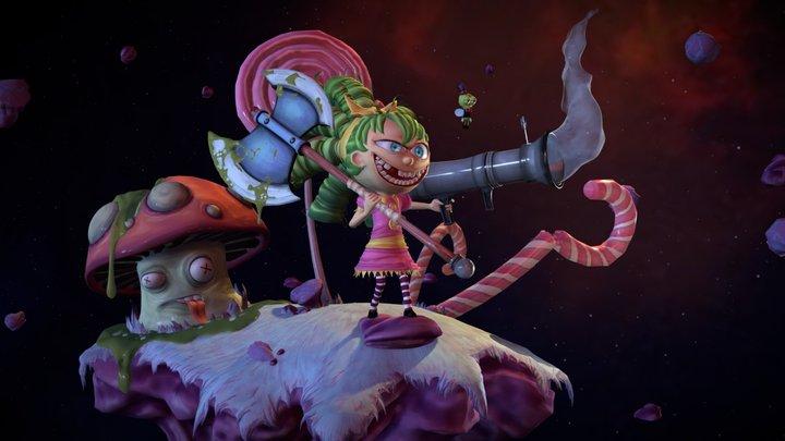 I hate fairyland,  Gertrude 3D Model