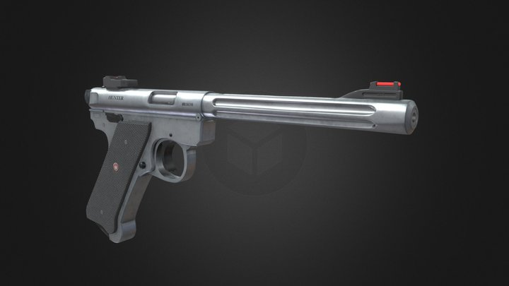 Ruger Mark IV 3D Model