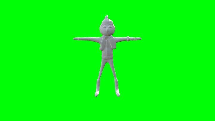 Standing Idle 02 3D Model