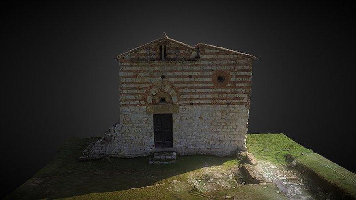 Pieve dei Santi Ippolito e Cassiano 3D Model