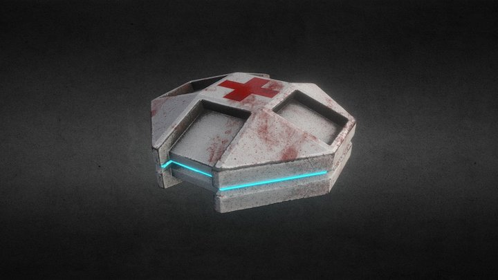 Health Pack 3D Model