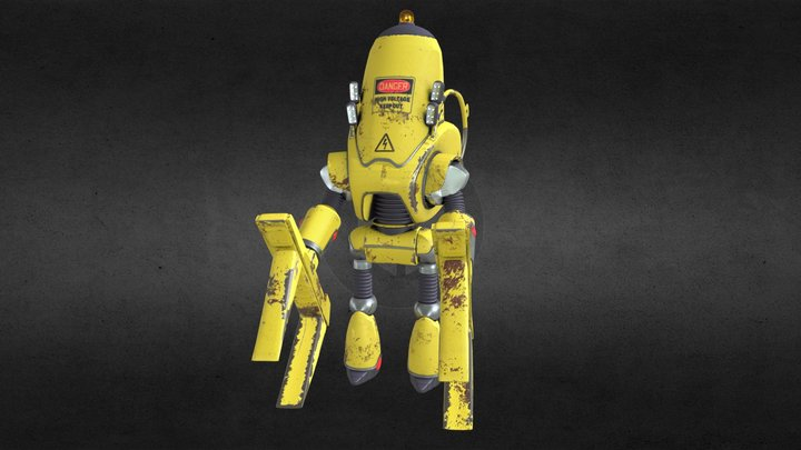 protectron worker 3D Model