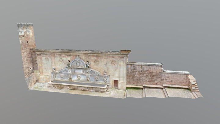 Pilar Carlos V 3D Model