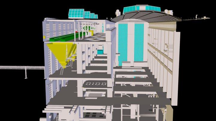 Power Plant 001 3D Model